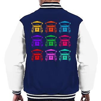 Citro n Vintage Type H Van Kleur patroon Men's Varsity Jacket