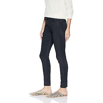 Brand - Daily Ritual Women's  Sateen 5-Pocket Skinny Pant, navy, 14