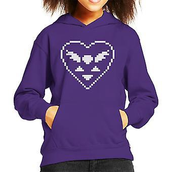 Undertale Delta Rune Heart Kid's Hooded Sweatshirt