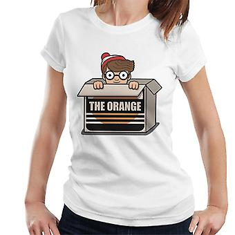 Wheres Wally The Orange Women's T-Shirt