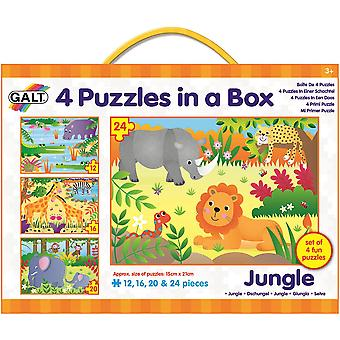 Galt 4 puzzel in een doos Jungle