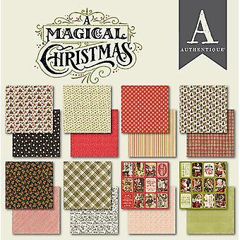 Authentique חג מולד קסום 6x6 אינץ נייר Pad