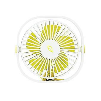 Flexible and Compact Mini Fan - White