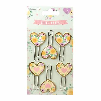 Dovecraft Wedding Planner Paper Clips