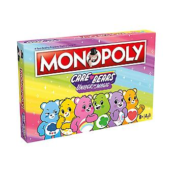 Care Bears Monopoly Board Game
