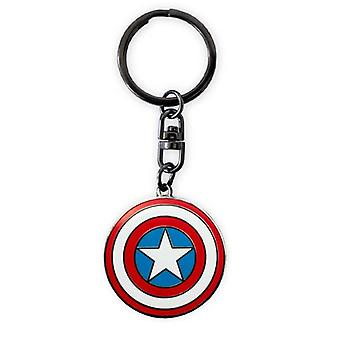 Marvel Kapteeni Amerikka Shield Metalli avaimenperä