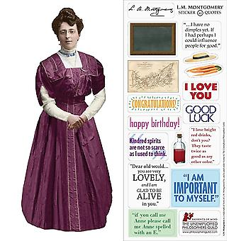 Stationery - LM Montgomery - Card and Sticker Sheet New 5268