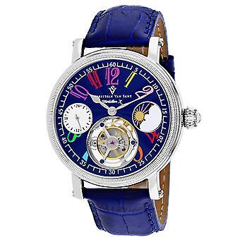 Cv0992, Christian Van Sant Men'S Tourbillion X - Blue Watch