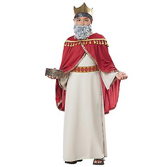 Melchior The Wise Man Three King Christmas Biblical Religious Boys Costume