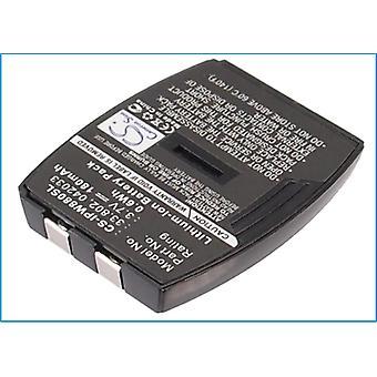 Draadloze headsetbatterij voor IPN 042033 33.802 Emotion W880 NIEUWE vervanging