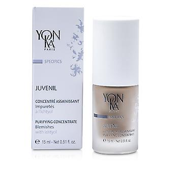 Yonka Specifics Juvenil Purifying Solution With Ichtyol (For Blemishes) 15ml/0.51oz