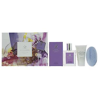 Acca Kappa Glicine - Wisteria Eau de Parfum 100ml, Soap 150g, Hand Cream 75ml