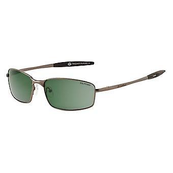 Dirty Dog Goose Polarised Sunglasses (green/gunmetal)