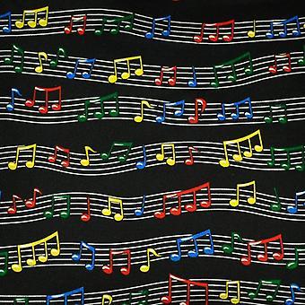 Krawatten Planet bunte Musik Notizen Seide Neuheit Tasche QuadratTaschentuch