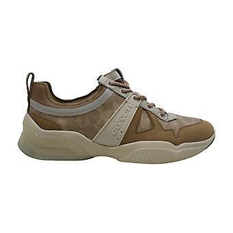 Coach Kvinder & apos;s Sko CitySole Sig Runner Low Top Slip På Fashion Sneakers
