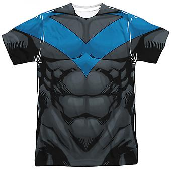 Nightwing sublimierte Kostüm T-Shirt