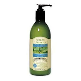 Avalon Organics Lotion Bio Pfefferminze, 12 Oz