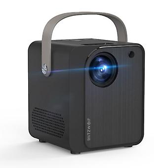 Blitzwolf BW-VP7 Mini LCD -projektori kaiuttimella - Mini Beamer Home Media Player - 5000 Lumen