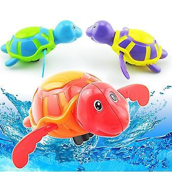 Cartoon Wind Up, Hippo Crocodile Clockwork Swimming Turtles