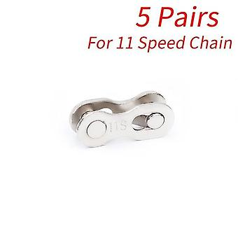 Bike Chain Quick Link Connector Lock Set Mtb Road Bicycle Power Chain Quick