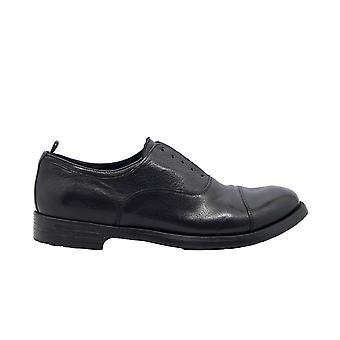 Officine Creative Hive04 Men's Black Leather Lace-up Shoes