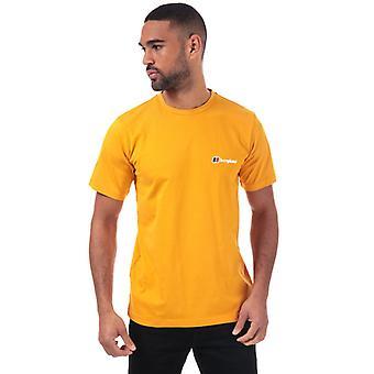 Men's Berghaus camiseta con logotipo corporativo en crema