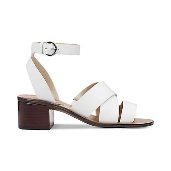 Marc Fisher Womens Omela Leather Open Toe Casual Ankle Strap Sandals