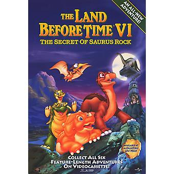 The Land Before Time VI The Secret of Saurus Rock Movie Poster Print (27 x 40)