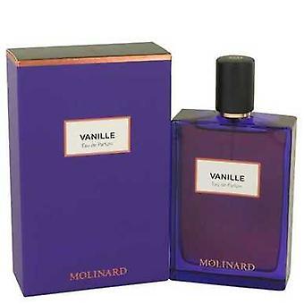 Molinard Vanille By Molinard Eau De Parfum Spray (unisex) 2.5 Oz (women) V728-537161