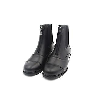 Horse Riding Equestrian Boots, Full Leather High Quality Zipper Shoes