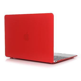 מחשב נייד קריסטל סגנון מגן מקרה עבור MacBook Air 13.3 אינץ ' A1932 (2018)(אדום)