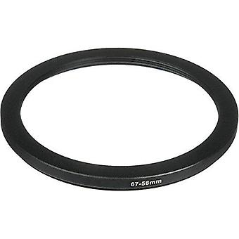 Phot-r® 67-58mm metal step-down ring adapter for camera filters and lenses 67 - 58mm