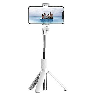 Bt selfie stick foldable tripod 360° rotation multi-functional handheld adjustable