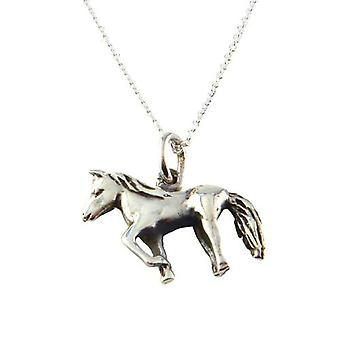 Friman hopea kaulakoru hevonen 925