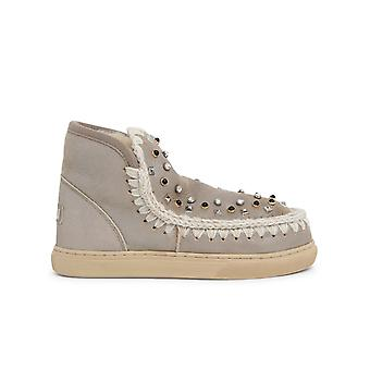 Mou Mufw111023bstme Women's Beige Other Materials Ankle Boots