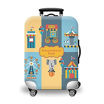 Suitcase Protector Cover Amusement Park
