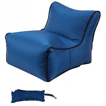 Portable Folding Inflatable Sofa Travel Lazy Bag Sleeping Beach Waterproof Sofa