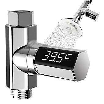 Led Bebek Duş Termometresi Duş Suyu Ekran Tempertür Monitörü