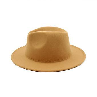 تريلبي الصوف فيلت فيدورا كاوبوي قبعات النساء