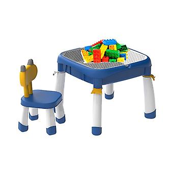 Children's Building Block Table Multi-functional Large Granule  Assembled,