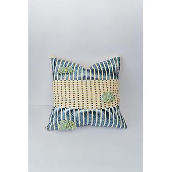 Salento Pillow Indigo + Seaglass