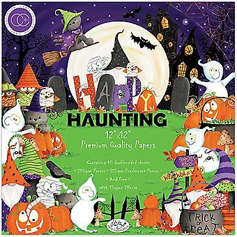 Craft Consortium Happy Haunting 12x12 Inch Paper Pad