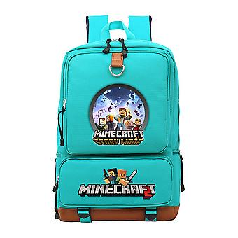 Minecraft école de jeunesse sac à dos imperméable à l'eau