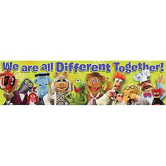 Muppets Different Together Classroom Banner