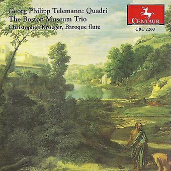 G.P. Telemann - Georg Philipp Telemann: Importación USA Quadri [CD]