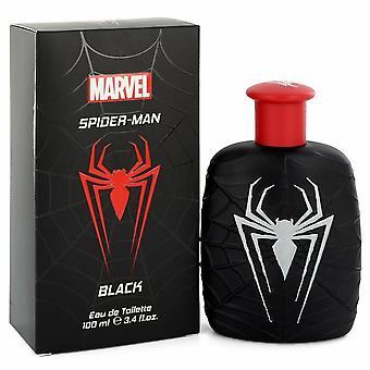 Spiderman musta by Marvel Eau de Toilette Spray 3,4 oz/100 ml (miehet)