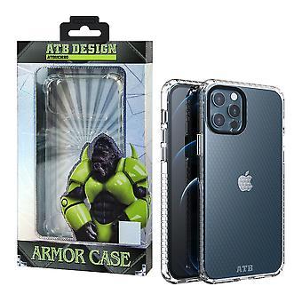iPhone 12 och 12 Pro Case Transparent - HoneyComb