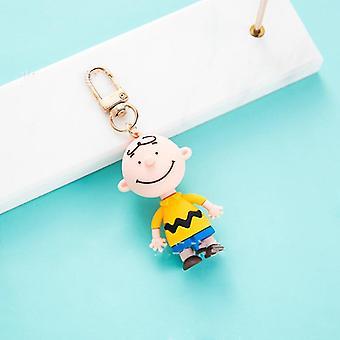 Ins Child Cute Cartoon Keychain Bag Pendant Figure