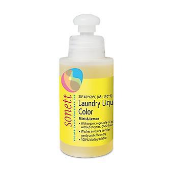 Farge flytende vaskemiddel 120 ml (Sitron - Mynte)