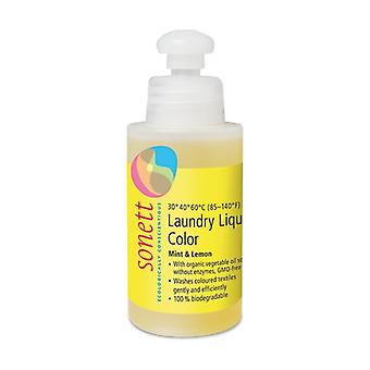 Farve flydende vaskemiddel 120 ml (Citron - Mynte)